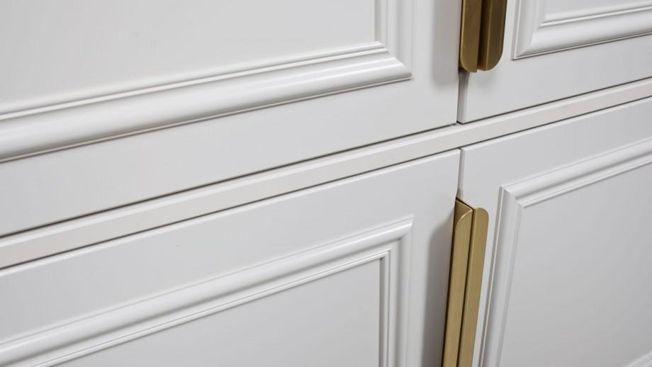 Armoire 44cm 2 portes en pin blanc - Collection Organize BePureHome