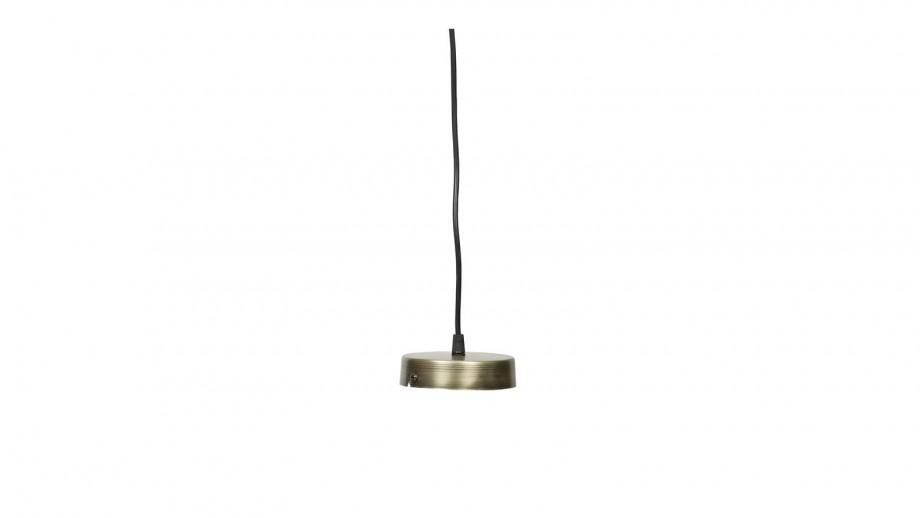 Petite suspension en laiton gris - Collection Engrave - BePureHome