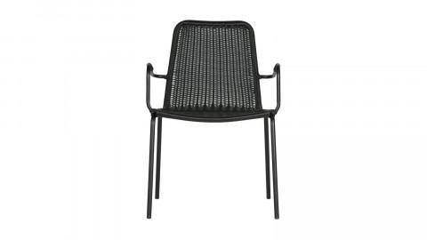 Chaise en métal noir - Collection Wander - Woood