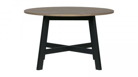 Table à manger ronde ø120cm en pin massif - Collection Derby - Woood