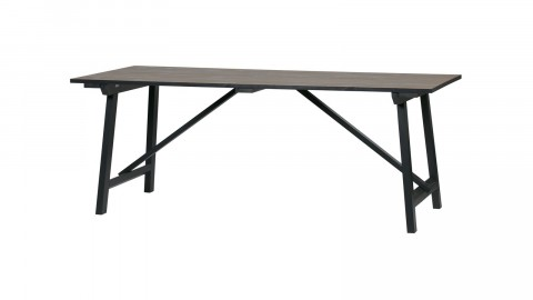 Table à manger en pin massif 180cm - Collection Derby - Woood
