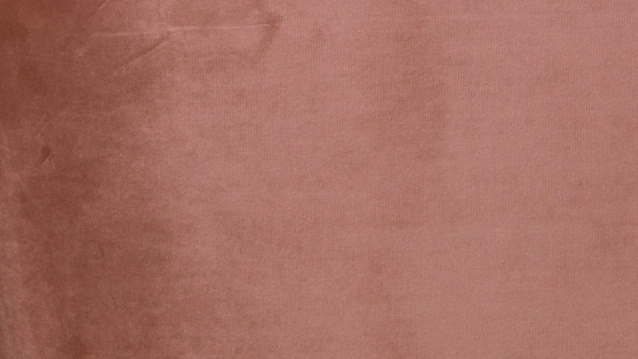 Pouf rond en velours vieux rose - Collection Sara - Woood