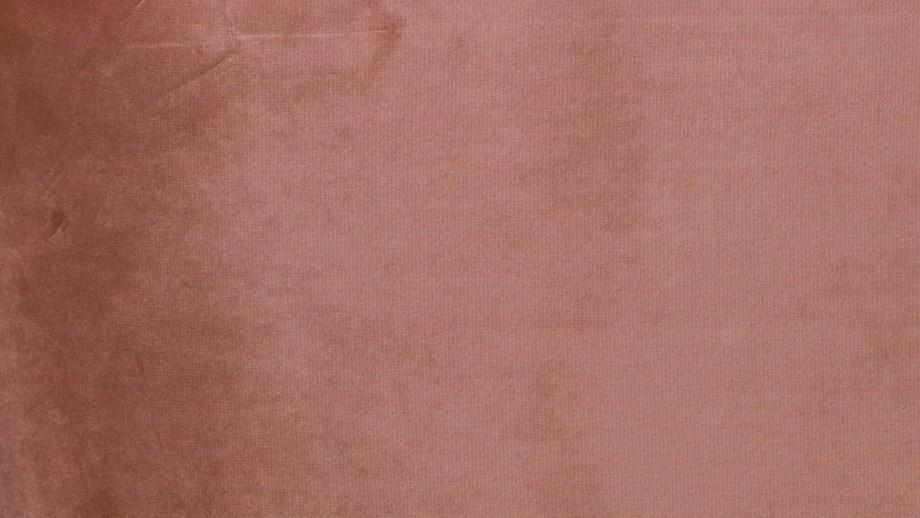 Fauteuil en velours vieux rose - Collection Sara - Woood