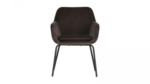 Lot de 2 fauteuils en velours anthracite - Collection Mood - Vtwonen