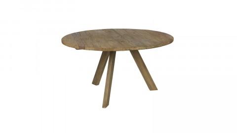 Table à manger ronde Ø140cm en bois d'orme - Collection Tondo - BePureHome