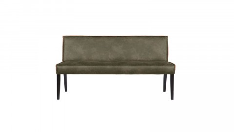 Banc en cuir kaki - Collection rodeo - BePureHome
