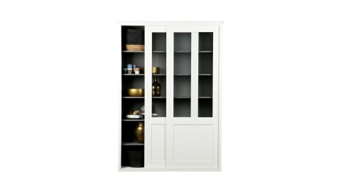 Armoire 2 portes en pin blanc - Collection Vince - Woood