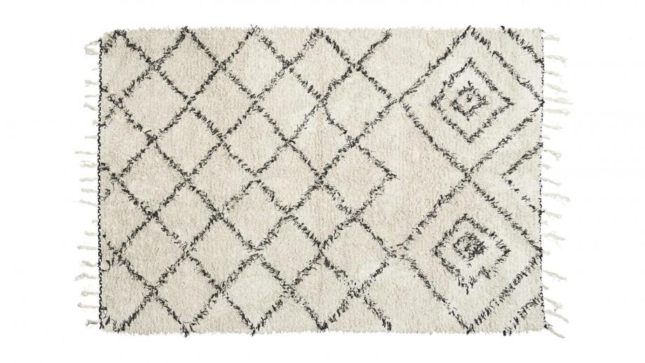 Tapis berbère en coton 140x200cm - Collection Kuba - House Doctor