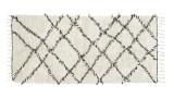 Tapis berbère en coton 90x200cm - Collection Riba - House Doctor