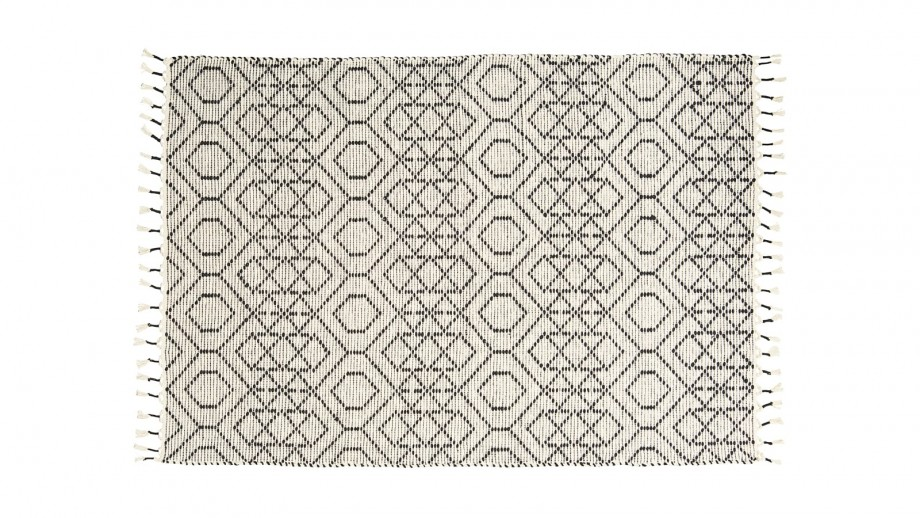 Tapis Berbere En Coton 140x200cm Collection Reverse House