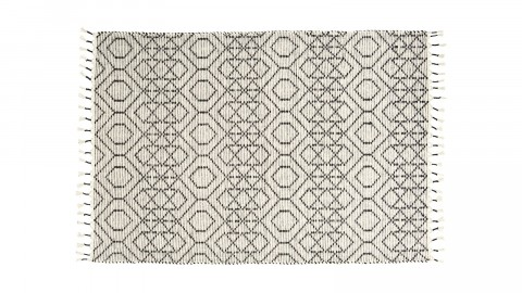 Tapis berbère en coton 140x200cm - Collection Reverse - House Doctor
