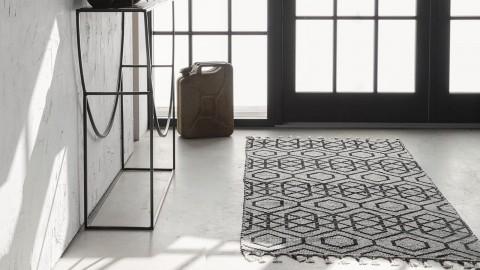 Tapis berbère en coton 140x200cm - Collection Reverse - House Doctor