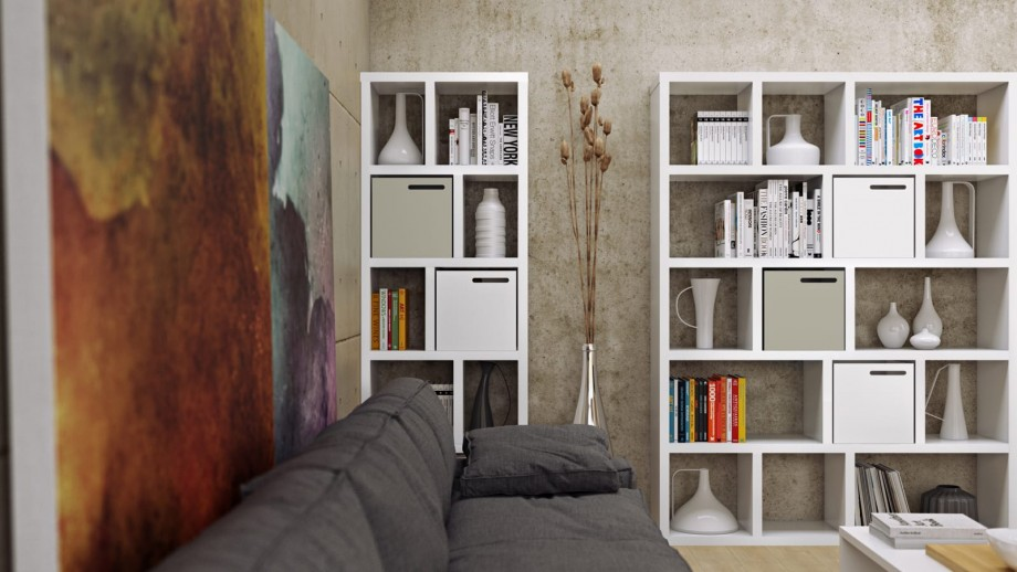 Etagère 5 niveaux 150cm blanche - Collection Berlin - Temahome