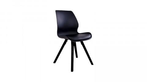 Lot de 2 chaises noires - Collection Rana - House Nordic