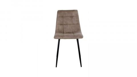 Lot de 2 chaises repas en tissu marron clair - Collection Middelfart - House Nordic