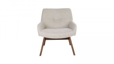 Fauteuil en tissu sable - Collection London - House Nordic