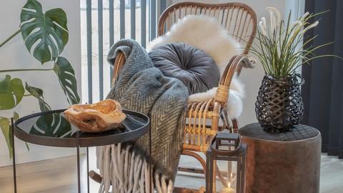 Rocking chair en rotin - Collection Celta - House Nordic