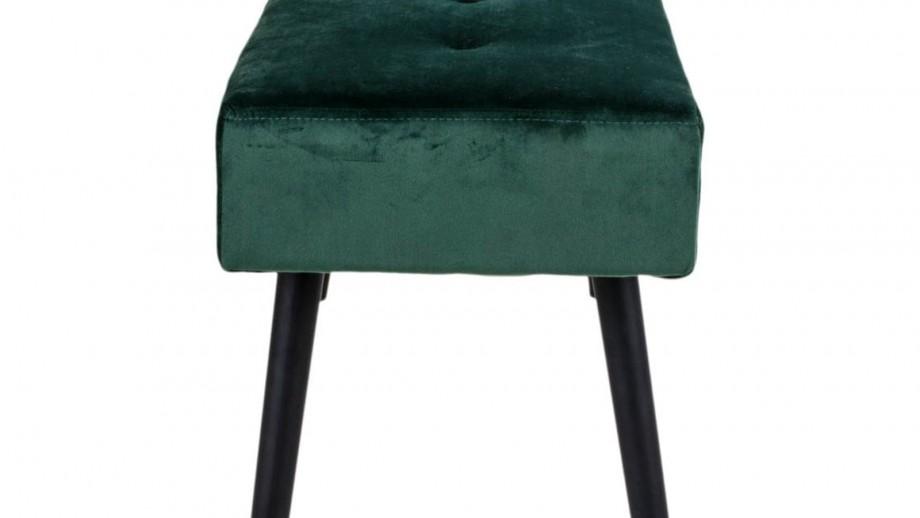 Banc en velours vert - Collection Skiby - House Nordic