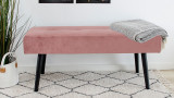 Banc en velours rose - Collection Skiby - House Nordic