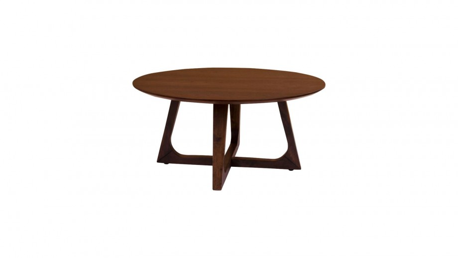 Table basse Ø 75 cm en bois - Collection Hellerup - House Nordic