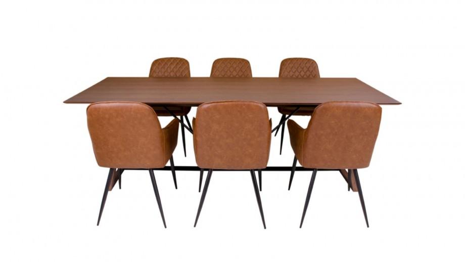 Table à manger 8 personnes en bois - Collection Hellerup - House Nordic
