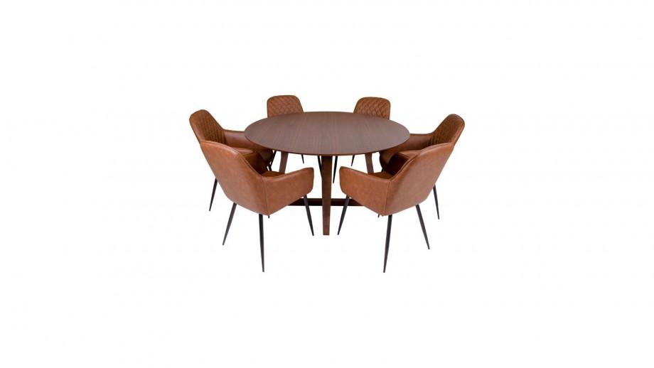Table à manger Ø137 cm en bois - Collection Hellerup - House Nordic