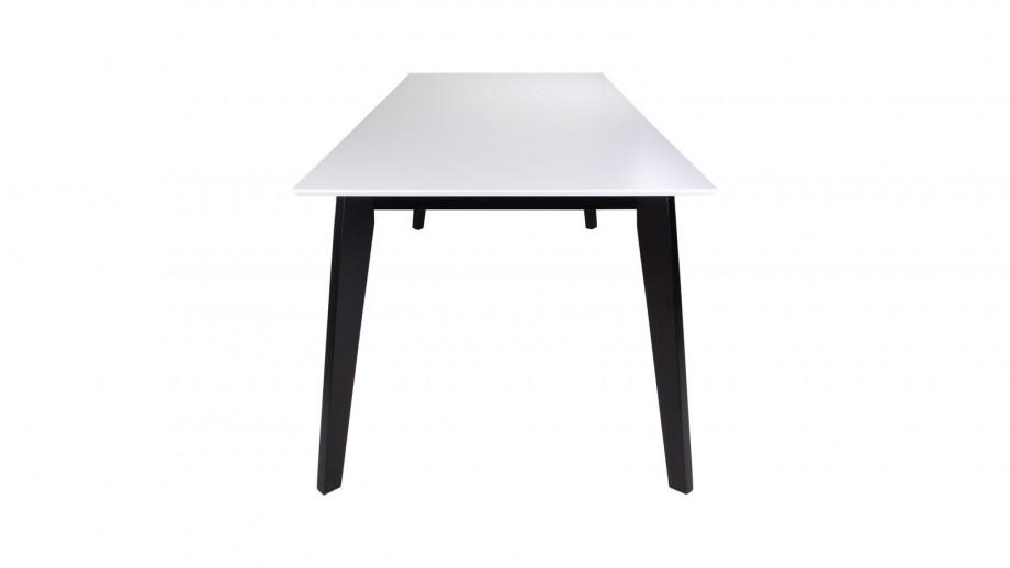 Table à manger 6 personnes noire et blanche - Collection Vojens - House Nordic