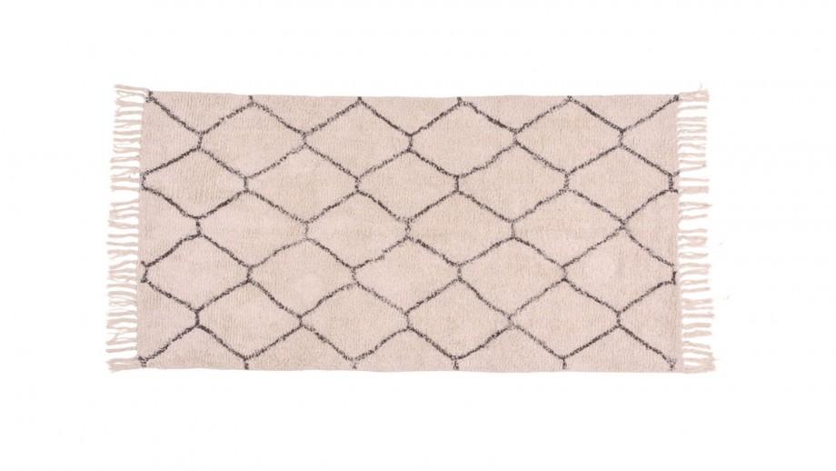 Tapis berbère en coton 135x65 cm - Collection Goa - House Nordic