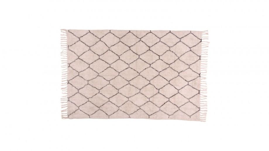 Tapis berbère en coton 180x120 cm - Collection Goa - House Nordic