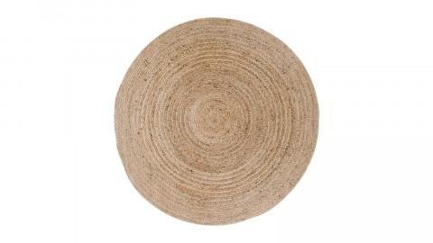 Tapis Ø150 cm en coton et jute naturel - Collection Bombay - House Nordic