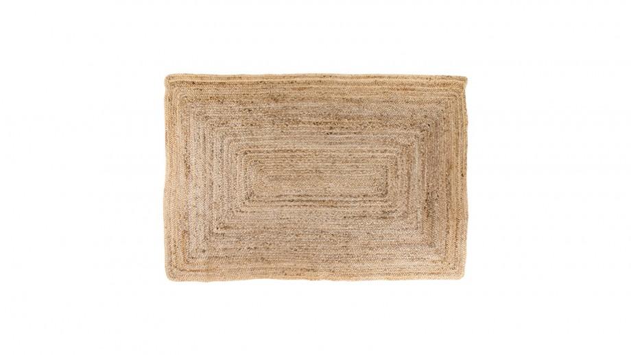 Tapis 90x60 cm en coton naturel - Collection Bombay - House Nordic