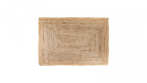 Tapis 90x60 cm en coton naturel - Collection Bombay - House Nordic