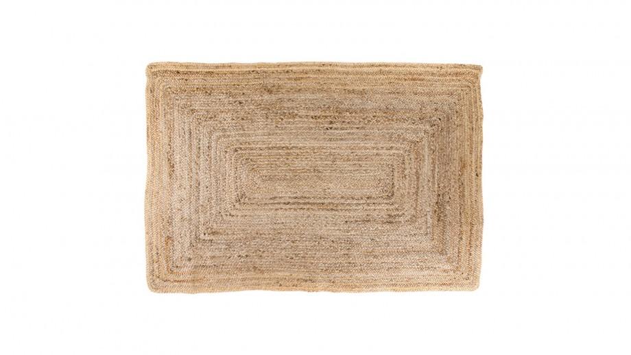 Tapis 180x120 cm en coton naturel - Collection Bombay - House Nordic