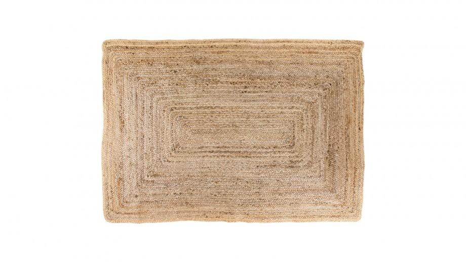 Tapis 240x180 cm en coton naturel - Collection Bombay - House Nordic