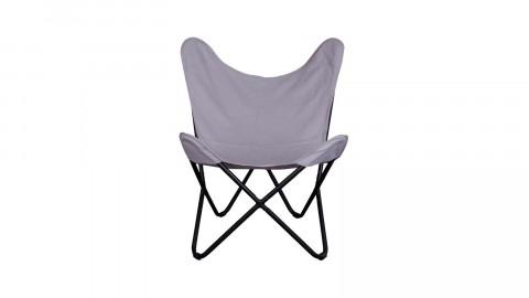 Fauteuil en tissu gris - Collection Como - House Nordic
