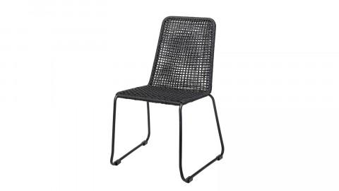 Lot de 2 chaises noires - Collection Mundi - Bloomingville