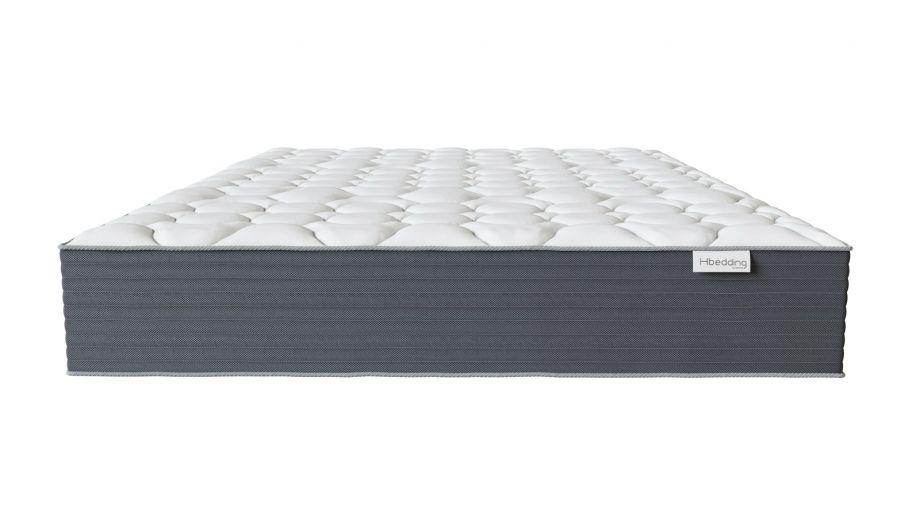 Matelas mémoire de forme 160x200 Memo HR Hbedding - Mousse ergonomique, mousse HR 35kg et mousse à effet mémoire de forme