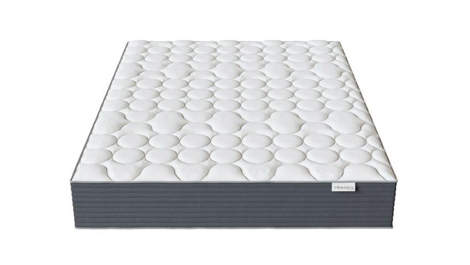 Matelas mémoire de forme 140x190 Memo HR Hbedding - Mousse ergonomique, mousse HR 35kg et mousse à effet mémoire de forme