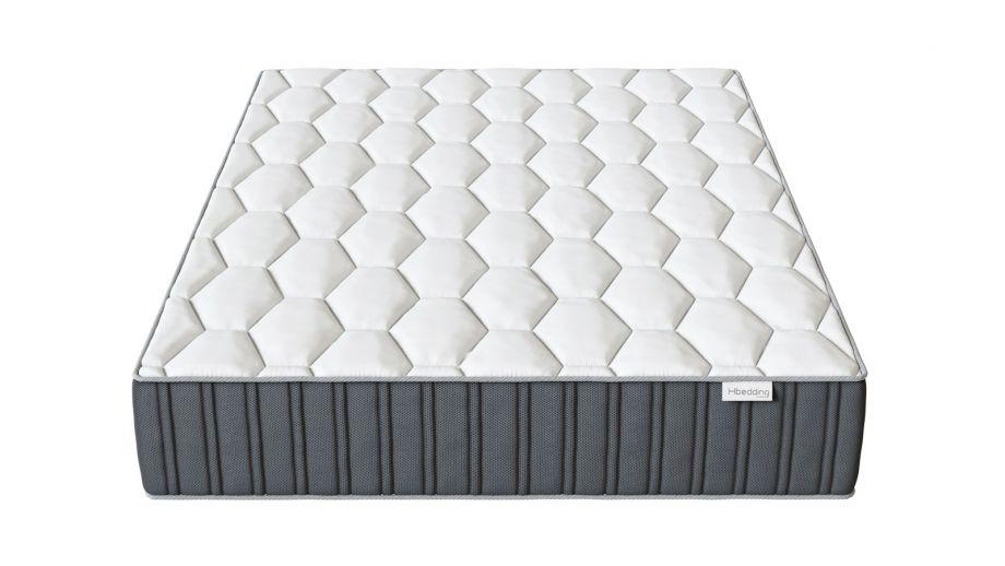 Matelas mémoire de forme 140x190 Memo Prestige Hbedding - Mousse ergonomique, mousse HR 35kg et mousse à effet mémoire de forme