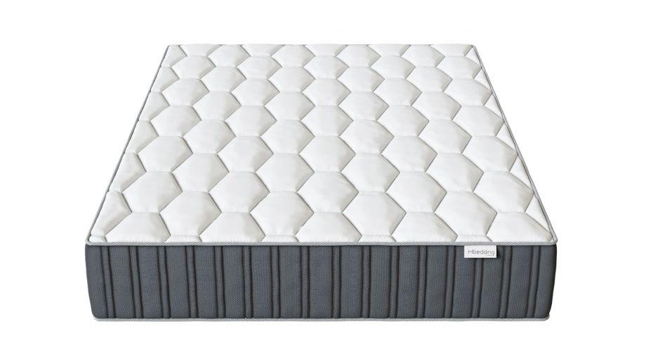 Matelas mémoire de forme 160x200 Memo Prestige Hbedding - Mousse ergonomique, mousse HR 35kg et mousse à effet mémoire de forme