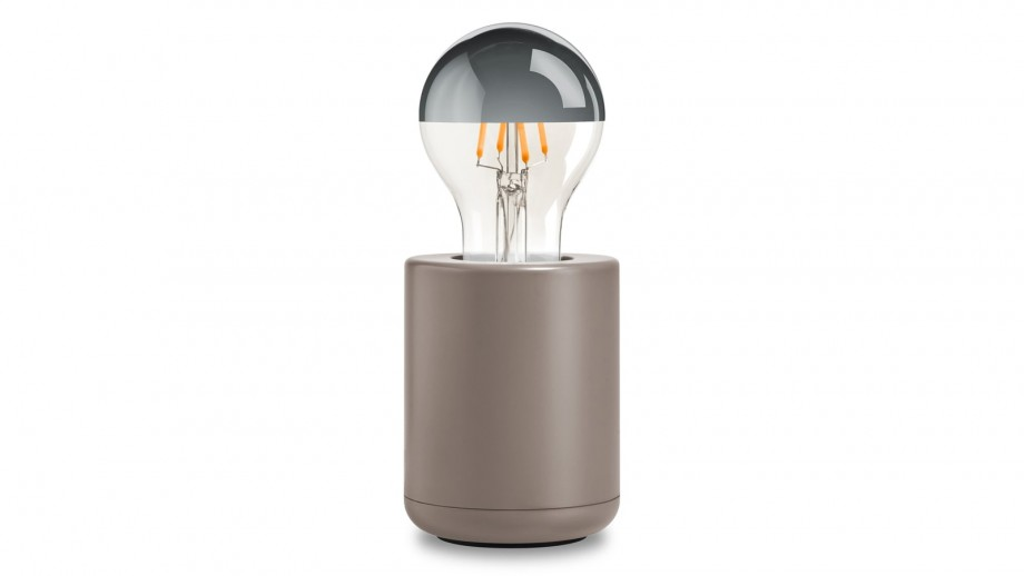 Lampe couleur taupe – Collection Base – Edgar