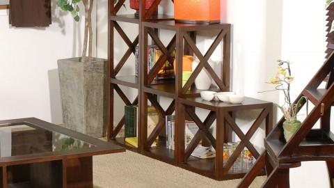 Cube de rangement 40cm croisillon - Collection Lauren