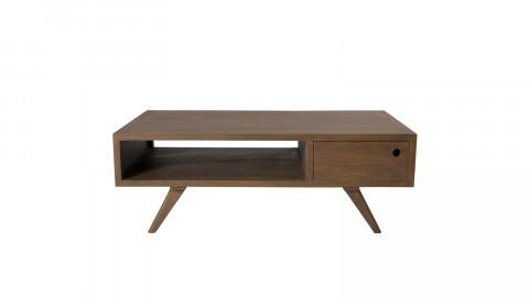Table basse 1 tiroir double en mindi - Fancy