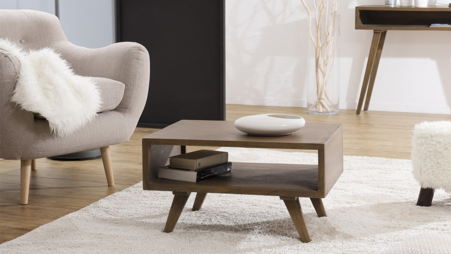 Table basse 70x50cm en mindi - Collection Fancy
