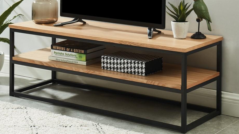 Meuble TV industriel 120x40x42 cm - Collection Brixton