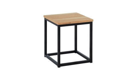 Table d'appoint industrielle 35x35x40 cm - Collection Brixton