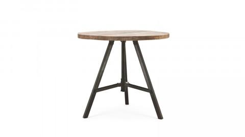 Table d'appoint en manguier - Taille L - Collection Discus