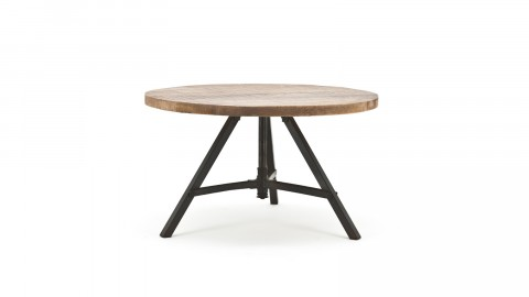 Table d'appoint en manguier - Taille M - Collection Discus