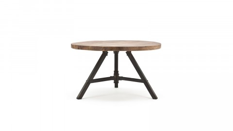Table d'appoint en manguier - Taille S - Collection Discus