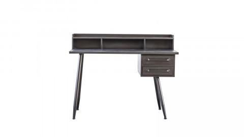 Bureau 2 tiroirs en métal - Collection Toma